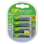 Pack of 4 ReCyko+ AA NiMH Rechargeable Batteries, 2000mAh