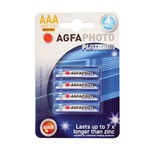 AGFA PHOTO Alkaline AAA Battery Blister pack of 4